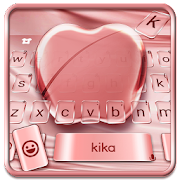App Silk Rose Gold Apple Keyboard for Phone 8 , OS11 APK for Windows Phone
