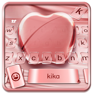 Silk Rose Gold Apple Keyboard Theme