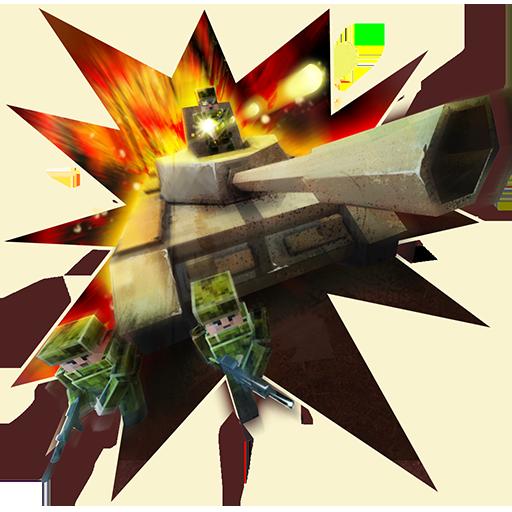 Tank Craft Blitz: World of Panzer War Machines