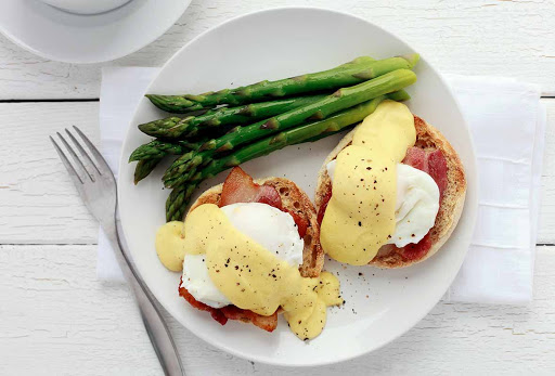 Julia Childs Eggs Benedict