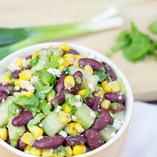 Black Bean High Protein Salad