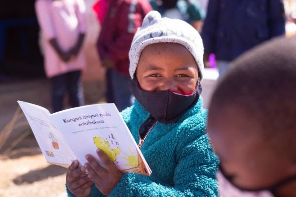 Nonprofit publisher of new African children's books, Book Dash, won the 2021 Nedbank Private Wealth Innovation Awards.