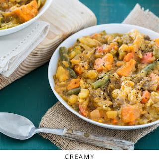 Creamy Sweet Potato and Vegetable Stew