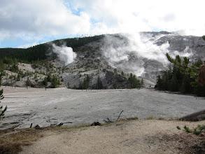 Photo: Roaring Mountain fumarole