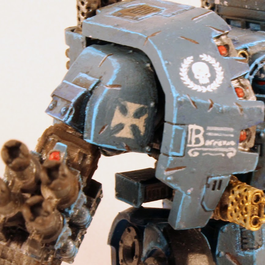 Leviathan Dreadnought, right side closeup