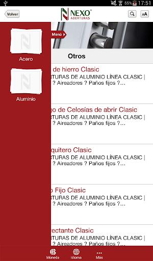 玩免費生活APP|下載Nexo® Aberturas para Tablet app不用錢|硬是要APP