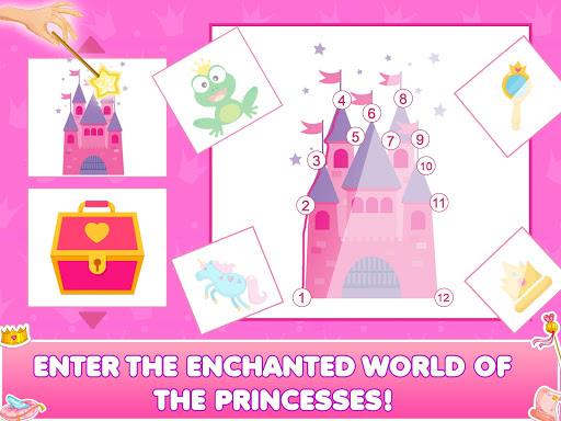 Princess Doll House Cleanup & Decoration Games screenshots 12
