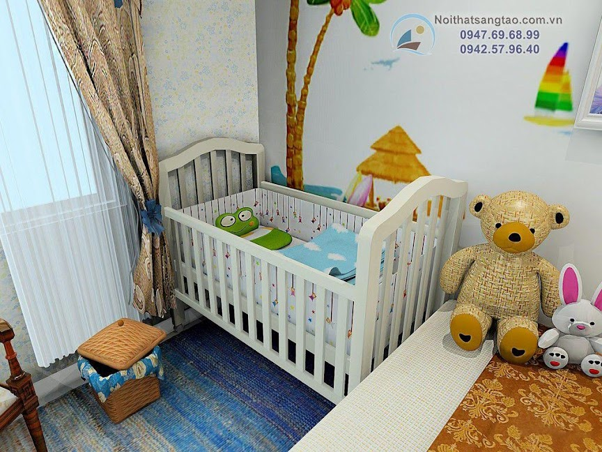 phòng ngủ cho vợ chồng trẻ