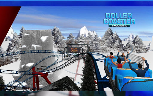 Roller Coaster 3D screenshot