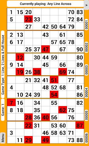 Bingo Tickets 90 screenshots 1