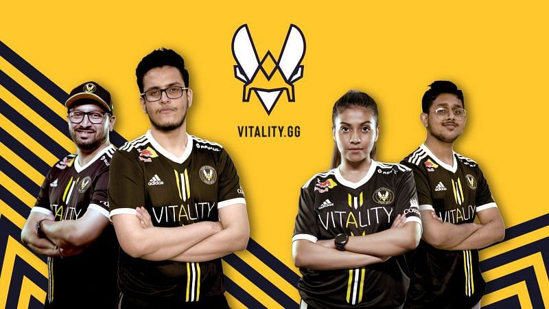 The brand new roster of Team Vitality India