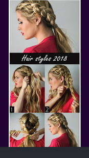 Womens HairStyle Steps 2018 - náhled