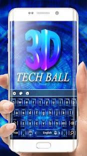 3d Tech  Keyboard - náhled
