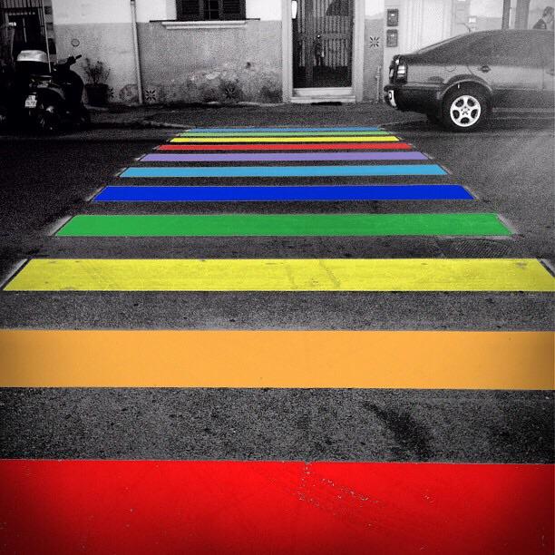 Colors in the street di kekkatommy