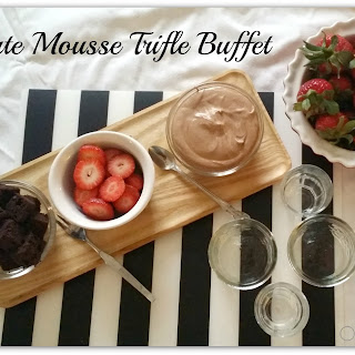 Mini Chocolate Mousse Trifles.