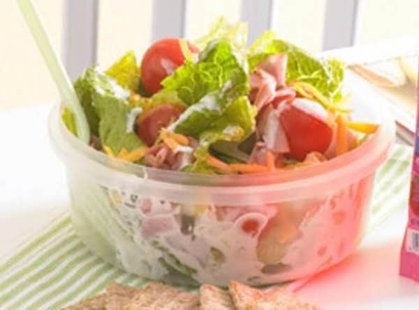 Chef Salad On The Go Recipe