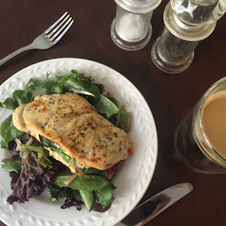 Healthy Greek-Inspired Stuffed Chicken Breast