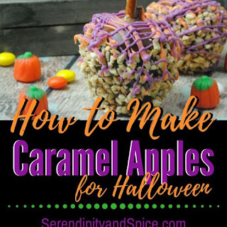 How to Make Caramel Apples for Halloween