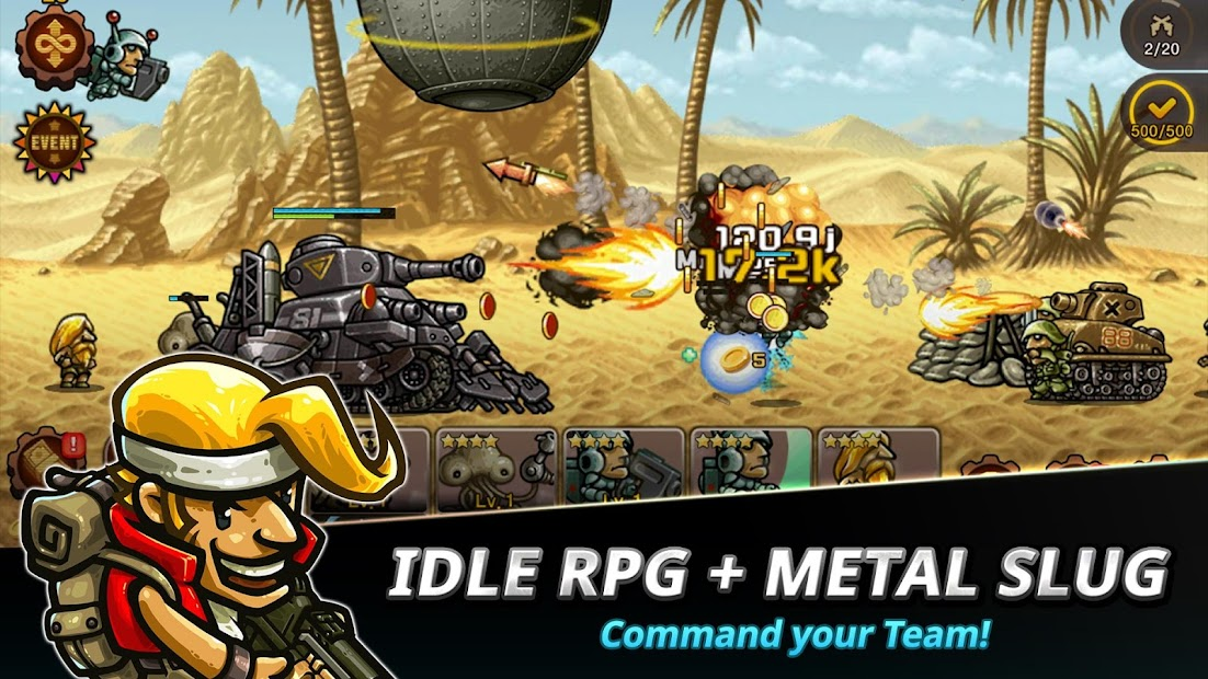 Metal Slug Infinity: Idle Role Playing Game Android App Screenshot