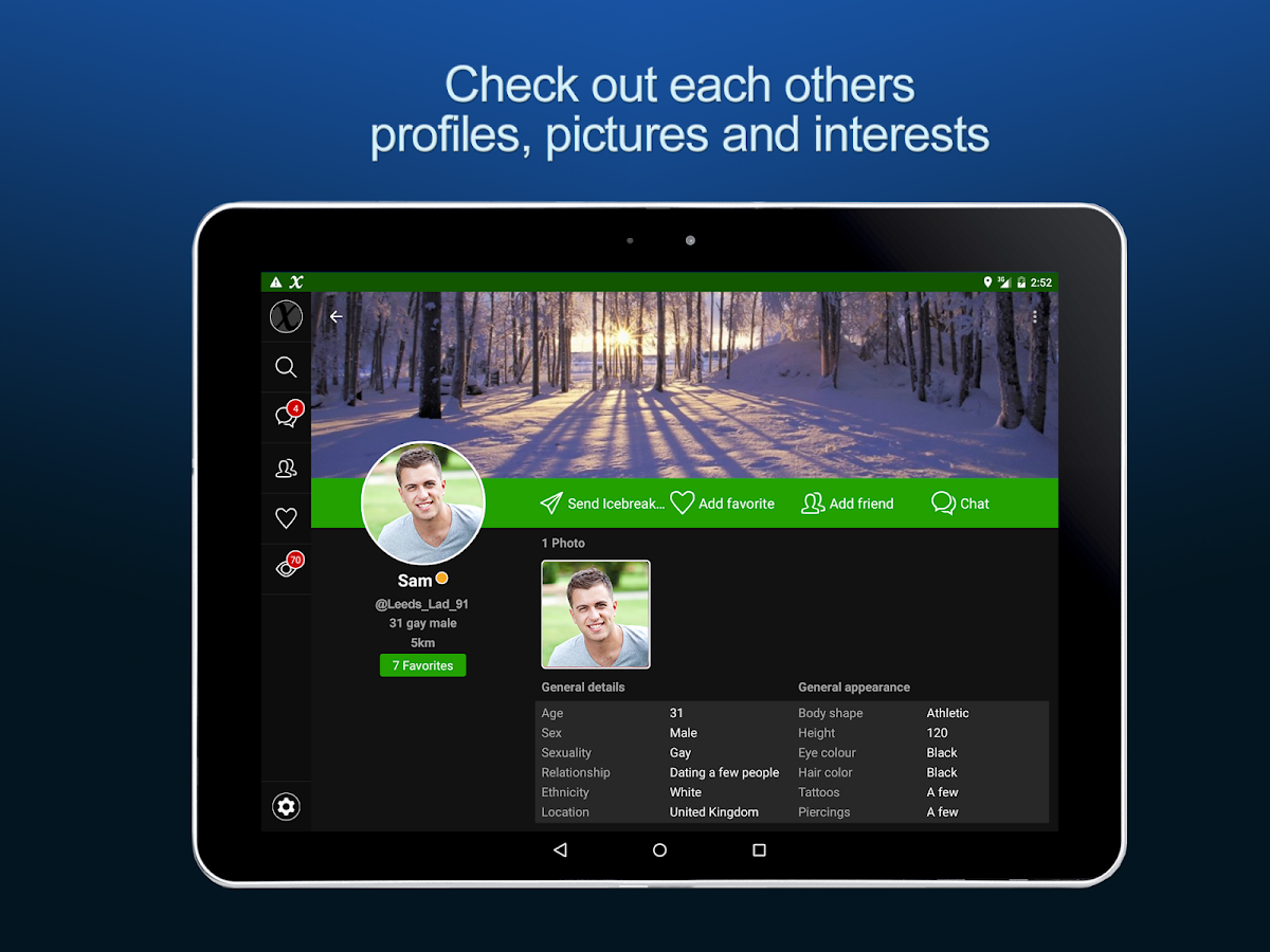 like GayXchange: Gay Chat Dating on the Google Play