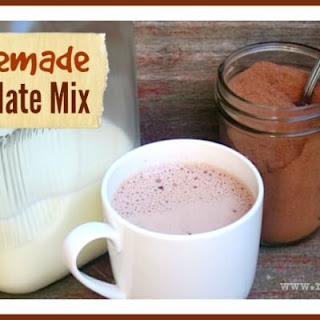 Healthy Homemade Hot Chocolate Mix