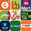 Grocery on Bigbasket Big Bazaar Grofer Dmart Dunzo icon