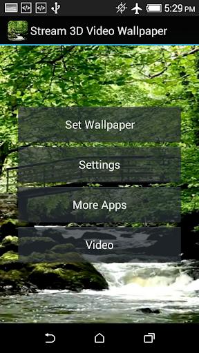 玩免費個人化APP|下載流3D视频壁纸 app不用錢|硬是要APP
