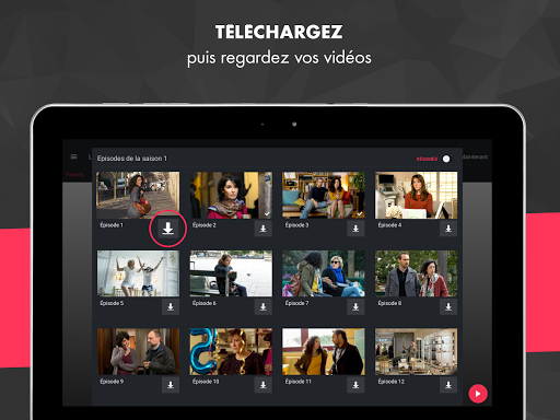myCANAL, vos programmes en live ou en replay 3.3.9 screenshots 8