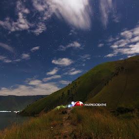 Camp by Dian Manik - Landscapes Mountains & Hills ( landscape photography, lake )