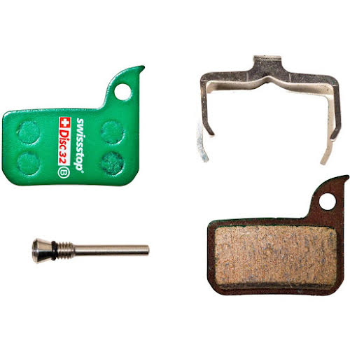 SwissStop Disc 32 Organic Compound Disc Brake Pad Set for SRAM Road and Level Ultimate/TLM