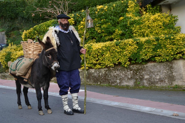 Olentzero en Euskadi