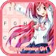 Happy Teenage Girl Keyboard Android apk
