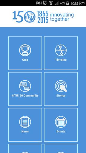 ITU 150th Anniversary App