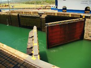 Photo: #016-L'écluse de Gatun sur le canal de Panama