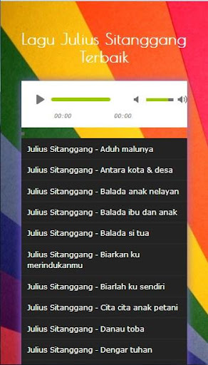 Julius sitanggang maria mp3 download.