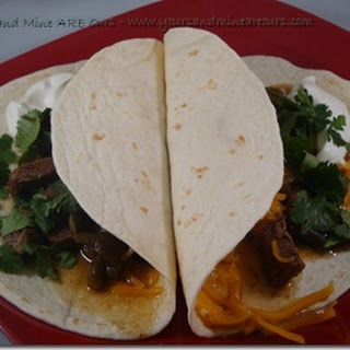 Crockpot Wednesdays–Slow Cooker Beef Fajitas