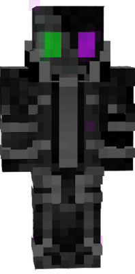 An enderman/wither.