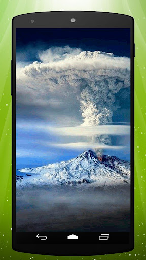 Smoke Volcano Live Wallpaper
