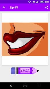 Learn How to Draw Lips - náhled