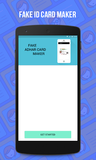 Fake Aadhar Card Maker App für iPhone - Download für iOS aus