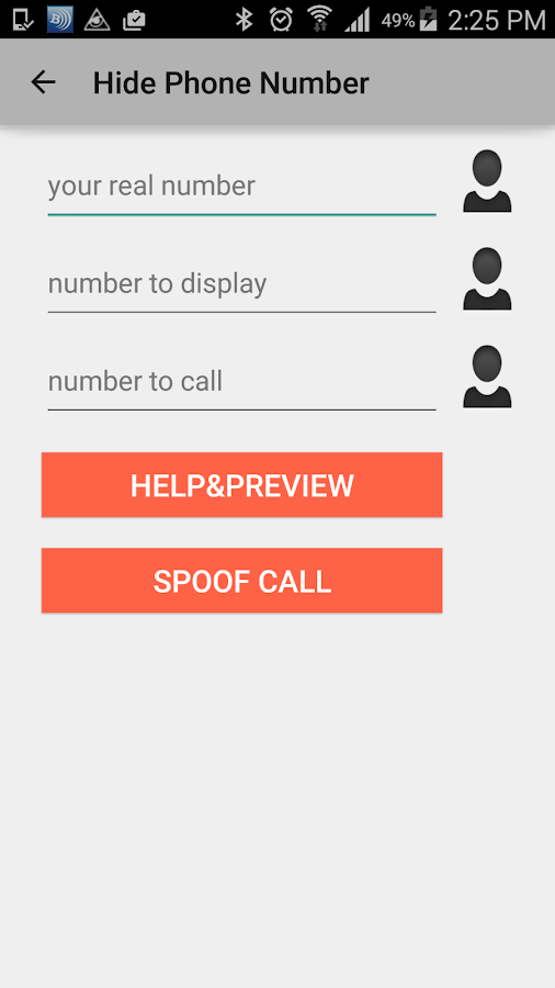 Spoof Call Fake Caller Id- screenshot