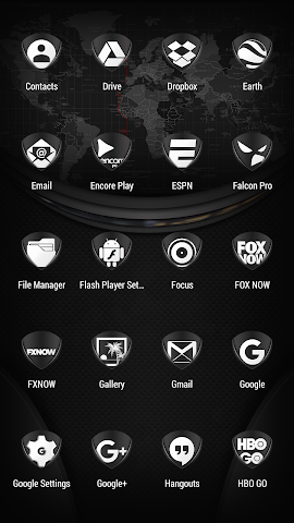 android Tuck It W - Icon Pack Screenshot 2
