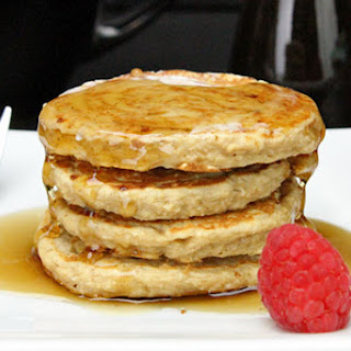 Peanut Butter Oatmeal Pancakes (Gluten-Free)
