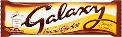 Galaxy Caramel Collection Chocolate Bar - Smooth Caramel, 48g