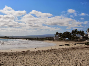 Photo: Beach at Puerto Villamil, Isabela Island