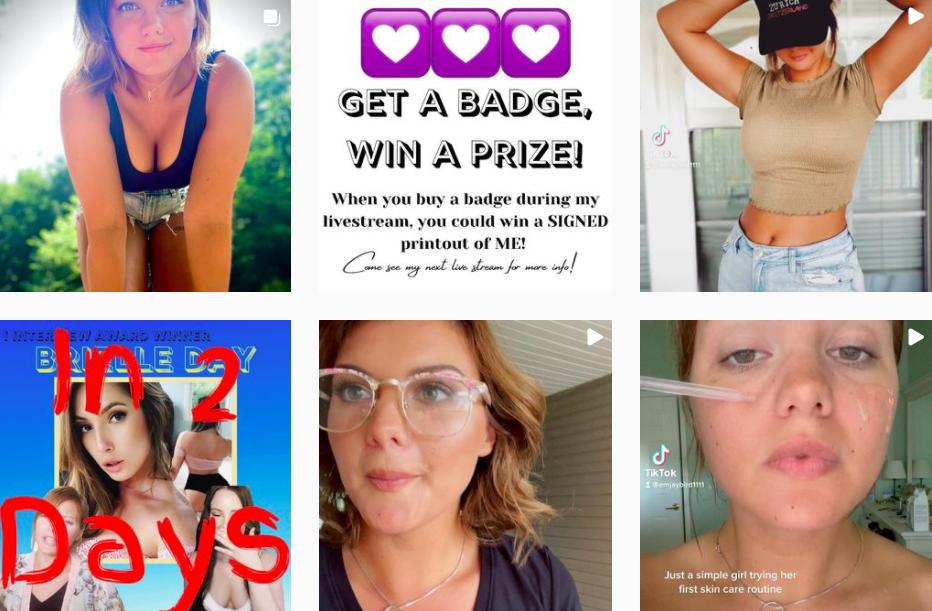 Emily Jones | Instagram Beauty Posts | US Content Creators