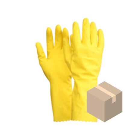 Kemskyddshandske Fingers Latex 10-pack