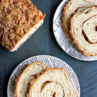 Honey Oat Cinnamon Swirl Bread
