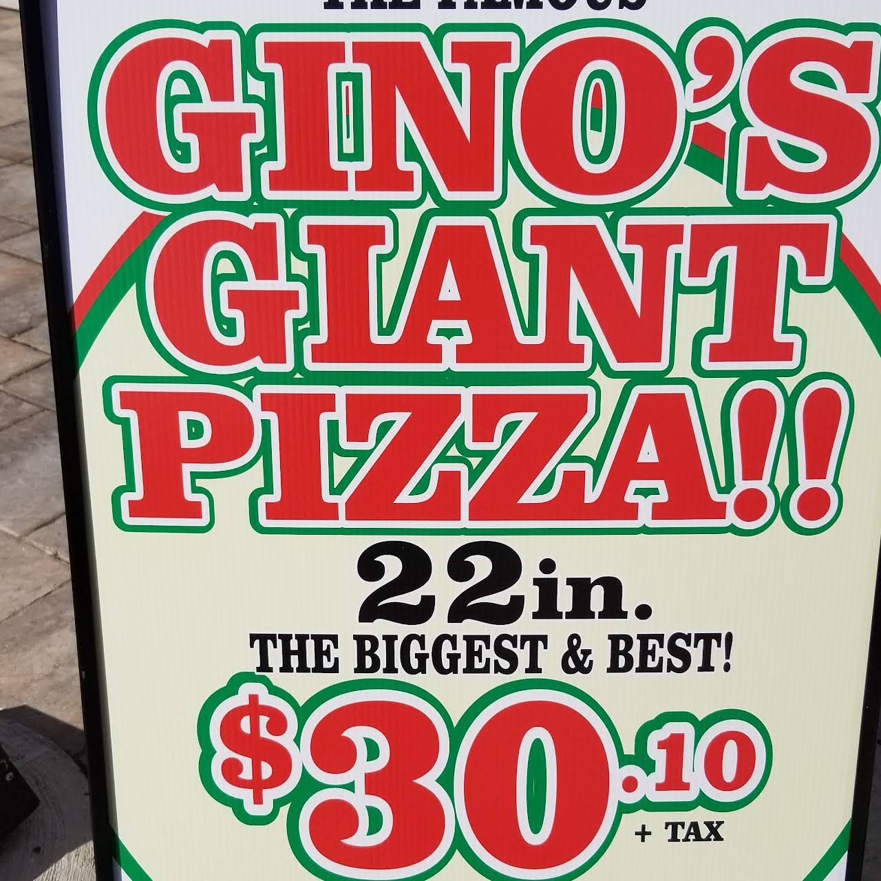 Ginos Pizza And Spaghetti Pizza Restaurant In Kingston