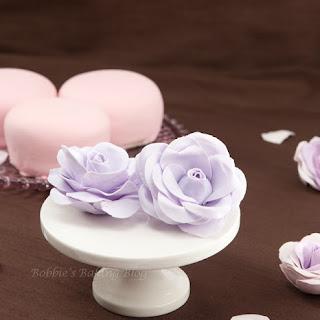 Gum Paste Roses.